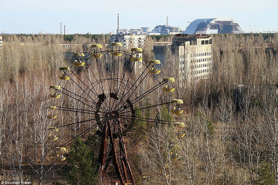 In recent years, the Chernobyl nuclear explosion site, and nearby ghost town of Pripyat, Ukraine, have seen an increase in tourist interest